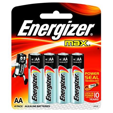 Pilas Energizer® MAX AA