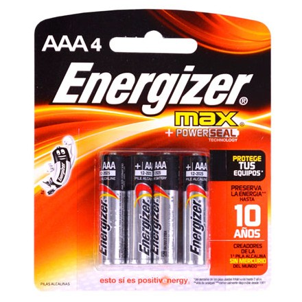 Pilas Energizer® MAX AAA