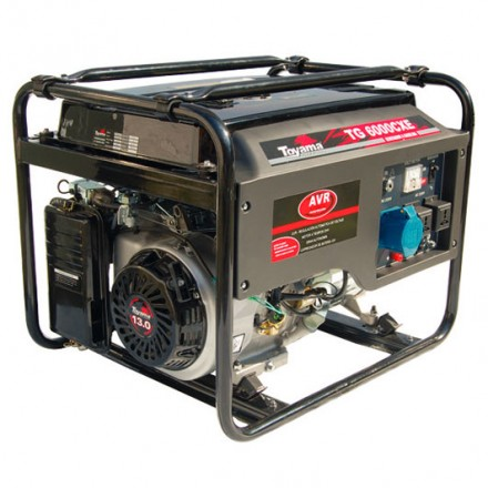 Generador a Gasolina TG6000CXE1J-AB TOYAMA