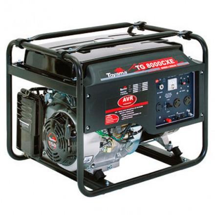 Generador a Gasolina TG8000CXE-AB TOYAMA