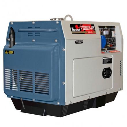 Generador Diesel con AVR TD5500SGEJATS- A 406 cc. Toyama