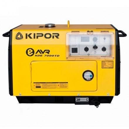 Generador Insonorizado Monofásico Diesel Kipor