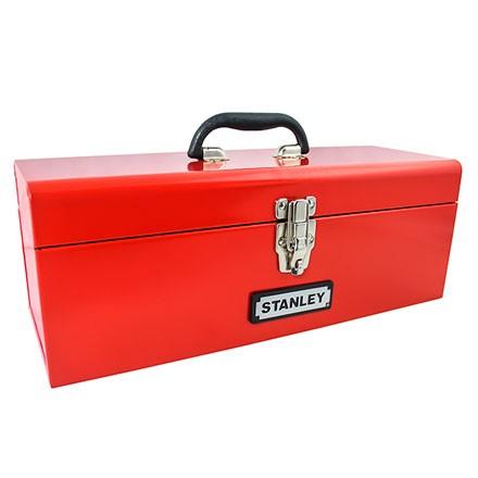 "Caja Metálica Stanley Para Herramientas 19"""