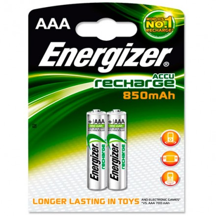 BLISTER PILAS RECARGABLES ENERGIZER  AAA